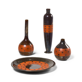 Ceramic Vesuvio Container Set
