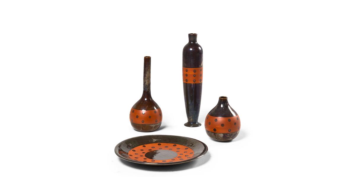Ceramic Vesuvio Container Set