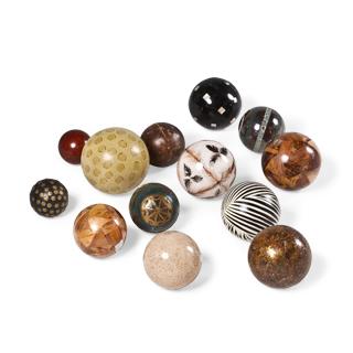 Assortment of Decorative Balls Set