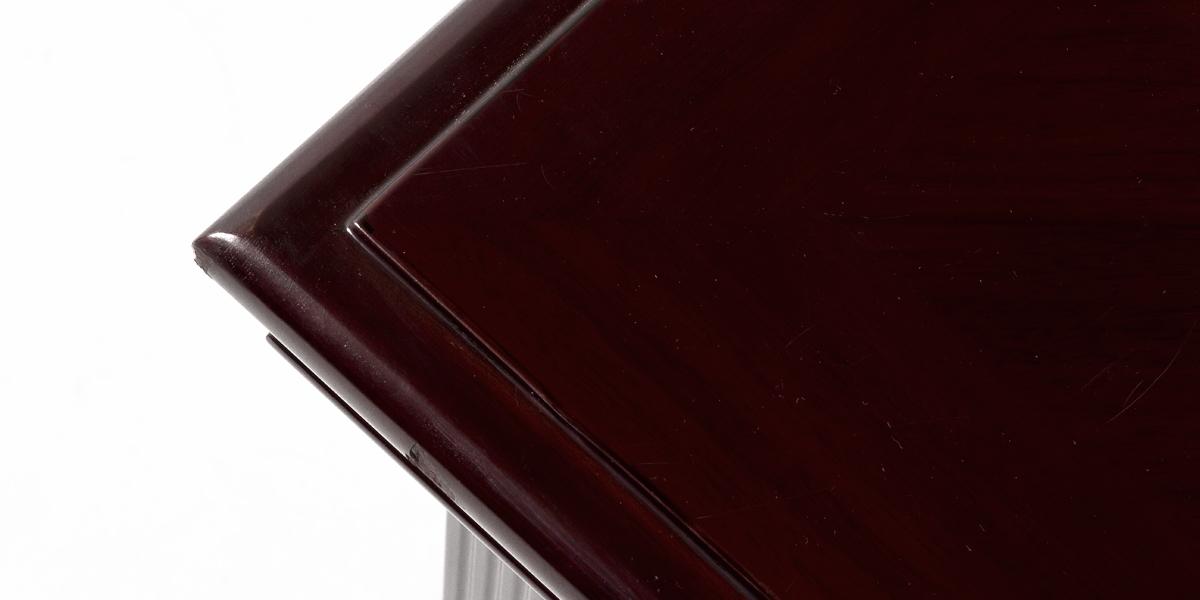 "72""w x 24""d Traditional Dark Mahogany Credenza CRD013452"