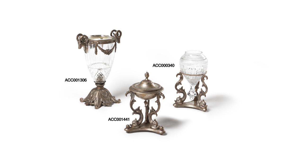 """9""""h - 12""""h Antique Decorative Containers Set"""