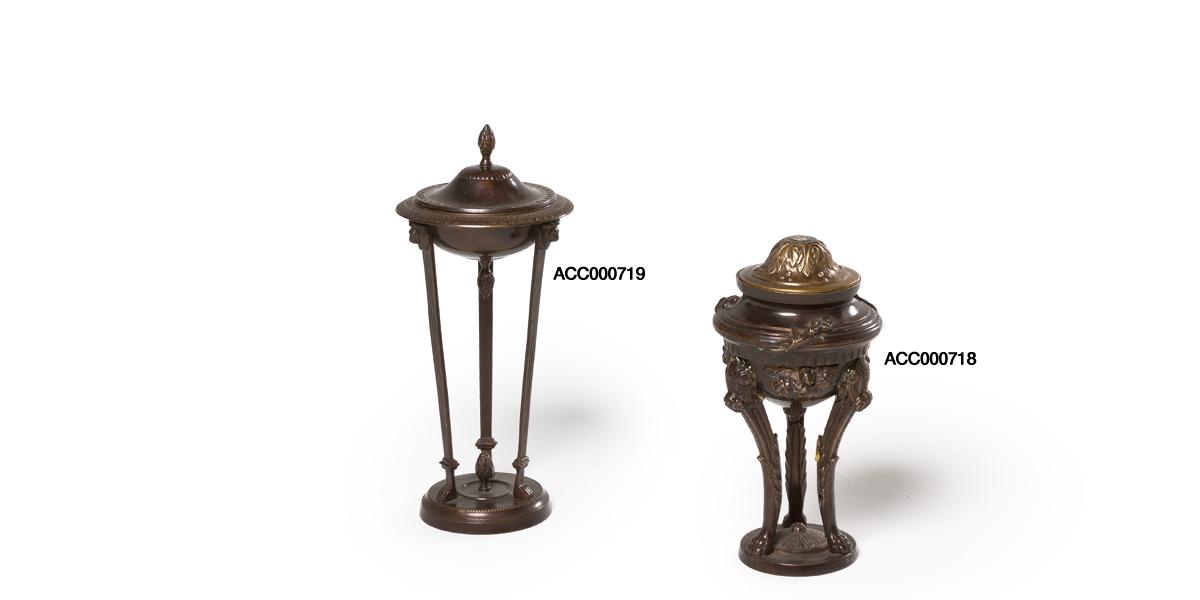 "10""h - 12.5""h Bronze Decorative Container Set"
