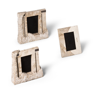 "6""h - 10""h Stone Picture Frame Set"