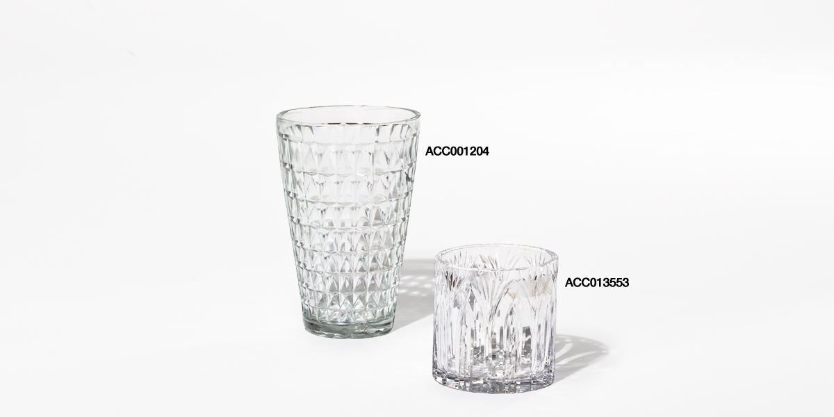 """5.25""""h - 10""""h Glass Vase Set"""