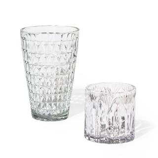 "5.25""h - 10""h Glass Vase Set"