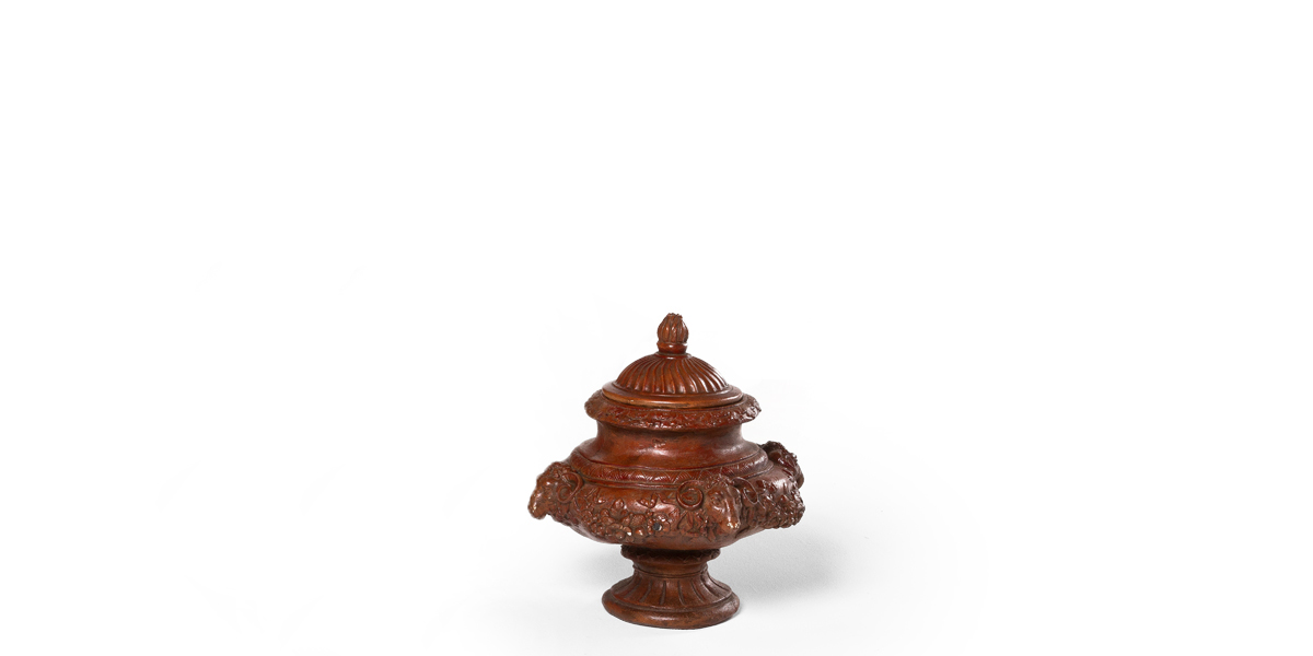 """16.5""""h Brown Vase ACC001660"""
