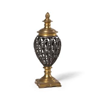 "17""h Brass Decorative Jar ACC004030"