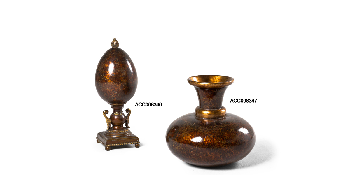 "13.5""h - 18""h Bronze Decorative Objects Set"