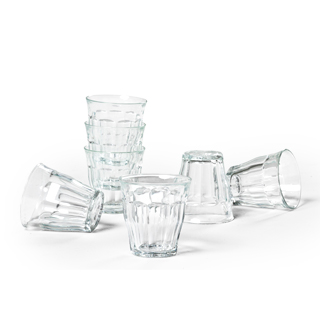 "3""h Glass Cups Set ACC013552"