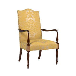 Sheraton Damask Guest Chair CHR013414