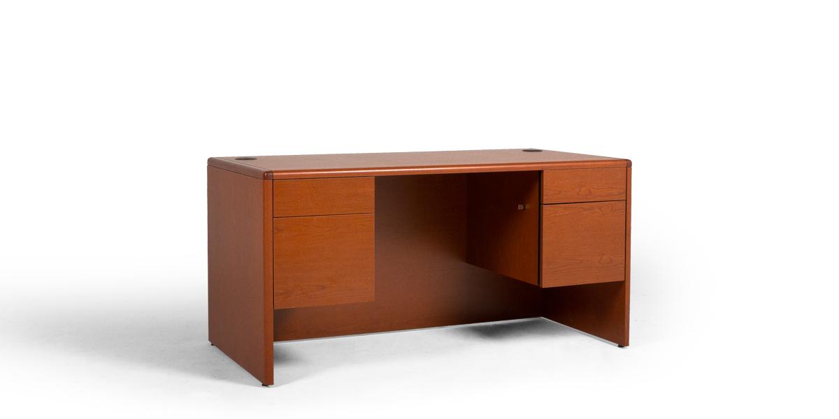 """60""""w x 30""""d Cherry Laminate Desk DSK013528"""