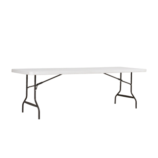 "96""w x 30""d Platinum Folding Table TBL013052"
