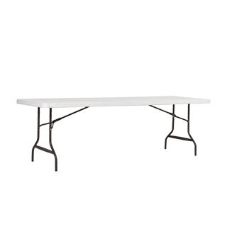 "96""w x 30""d Platinum Folding Table TBL013052"
