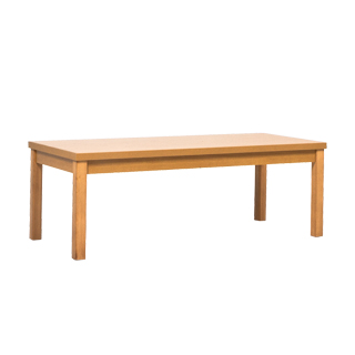 "47.75""w x 19.5""d Maple Coffee Table TBL013458"
