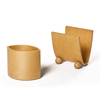 Wooden Accessory Set