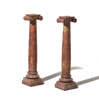 "18""h Burnished Brown Candleholder ACC001194"