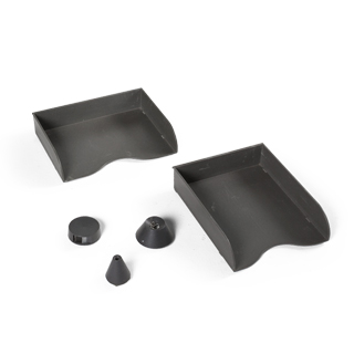 Dark Grey Desk Accessories Set