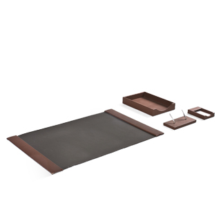 Chestnut Desk Accessories Set