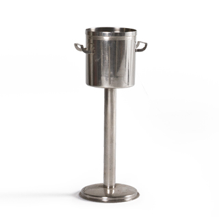 "27.5""h Silver Standing Wine Cooler ACC013537"