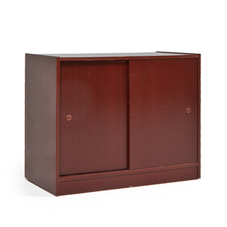 "36""w x 19""d Cherry Veneer Storage Cabinet CAB011729"
