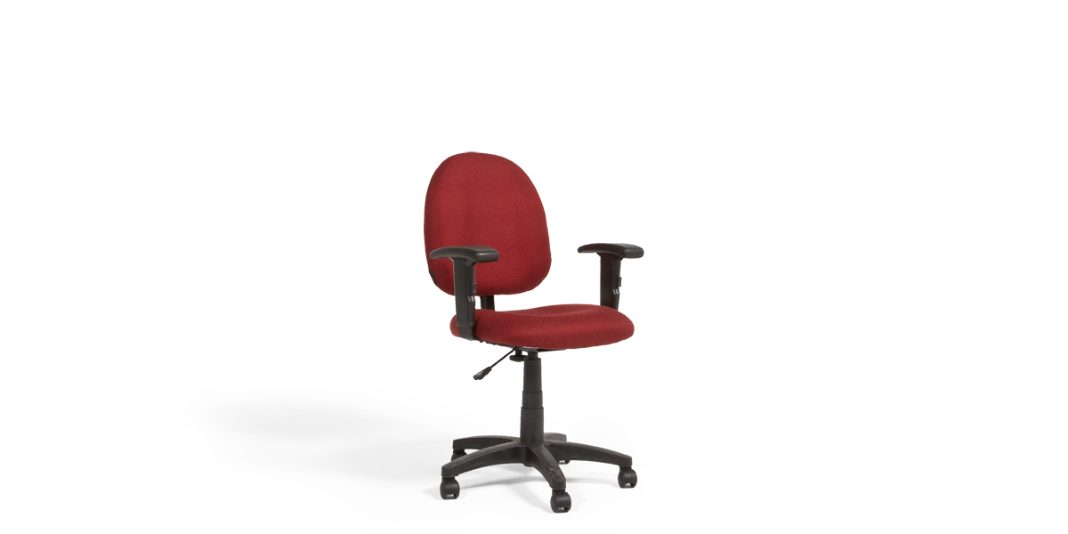 Burgundy Fabric Task Chair CHR013542