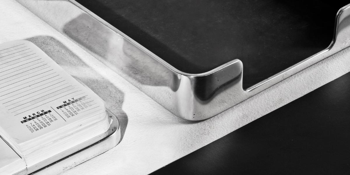 Aluminum Desk Accessories Set