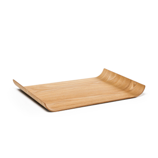 """17.25""""w x 12.25""""d Natural Tray ACC012240"""