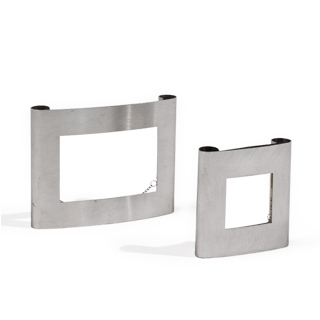 Silver Picture Frame Set