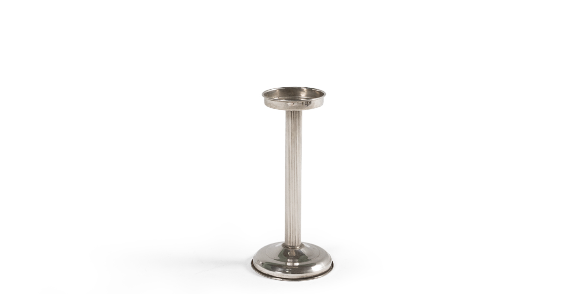 "20""h Silver Ice Bucket Stand ACC000478"