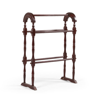 "34""h Mahogany Drying Stand ACC003830"