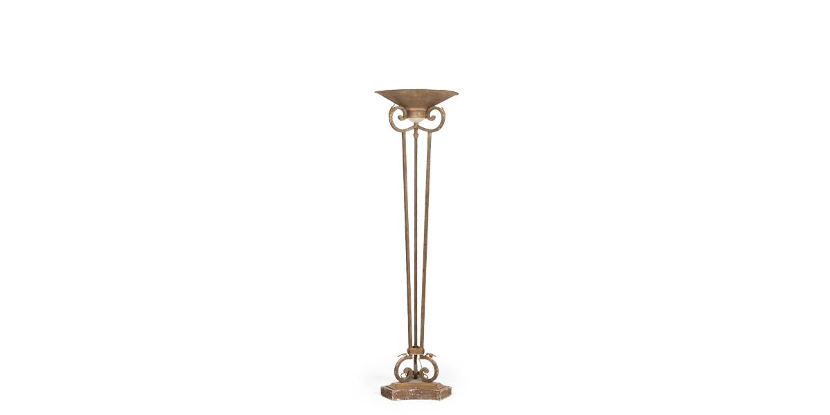 """71""""h Stone Floor Lamp LGT007493"""