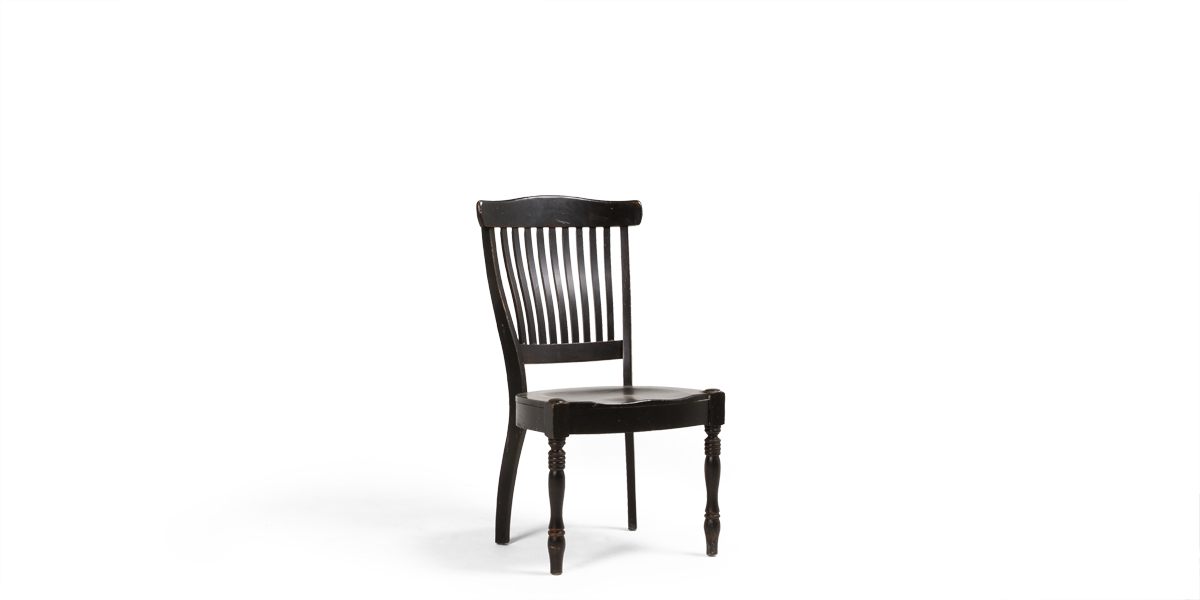 Black Dining Side Chair CHR009291