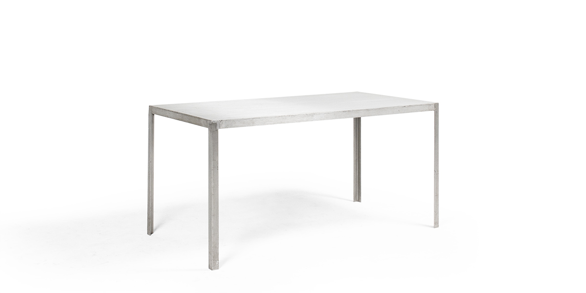 "60""w x 30""d Aluminum Table Desk TBL005917"