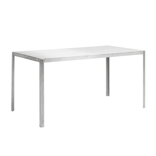 "60""w x 30""d Aluminum Table Desk TBL005917"