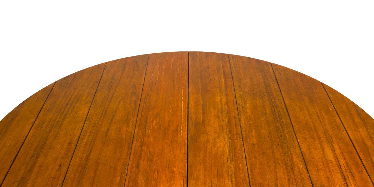 "53.5""dia Distressed Pine Round Dining Table TBL009288"