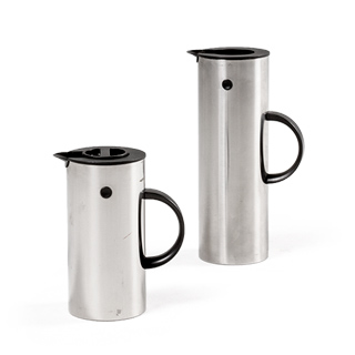 "8""h - 12""h Stainless Steel Carafe Set"