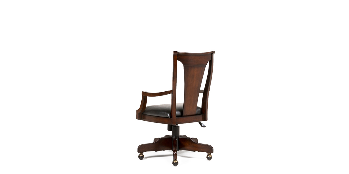 Black Vinyl Executive Hi-Back Office Chair CHR013635