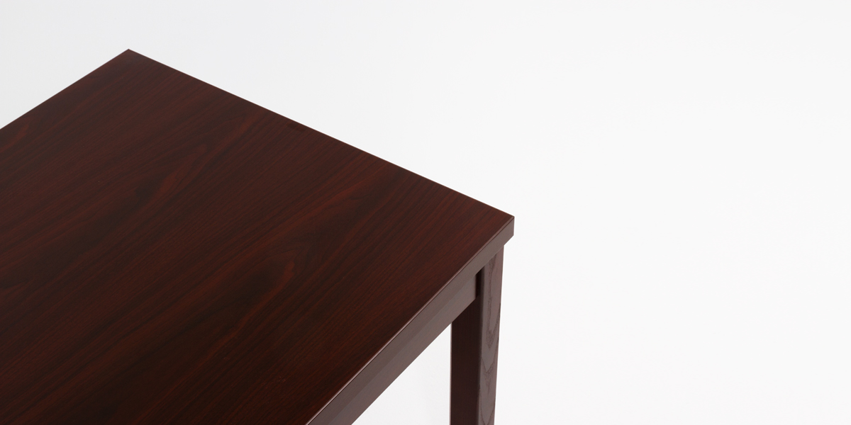 "23.75""w x 23.75""d Mahogany End Table TBL013607"