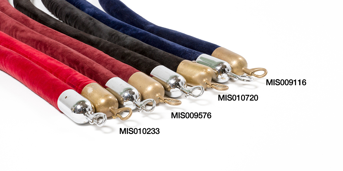 Stanchion Ropes Set