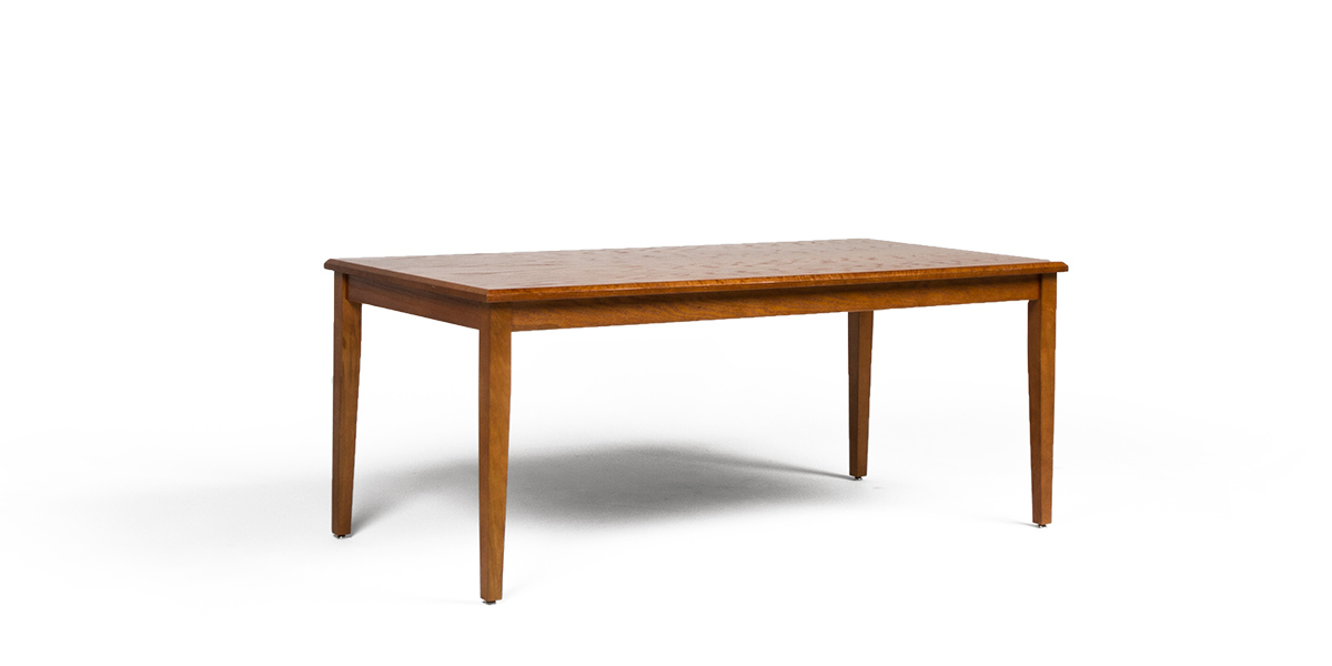 "72""w x 36""d Medium Oak Courtroom Table TBL013285"