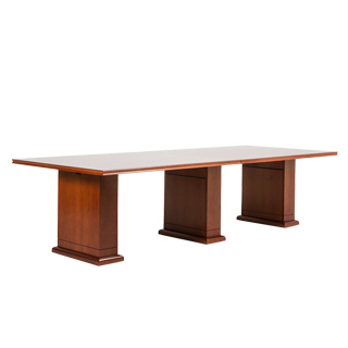 "120""w x 48""d Medium Cherry Conference Table TBL013634"
