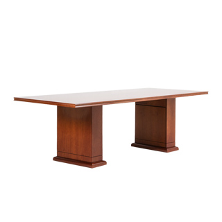 "98""w x 42""d Medium Cherry Conference Table TBL013633"