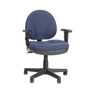 Blue Fabric Task Chair CHR001049