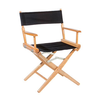 Natural Wood Director's Chair CHR006012