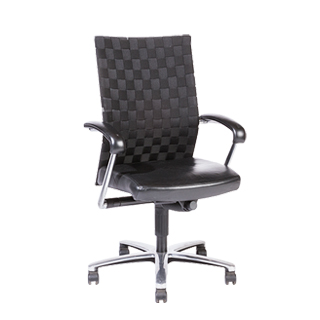 Black Mid-Back Swivel Chair CHR010807