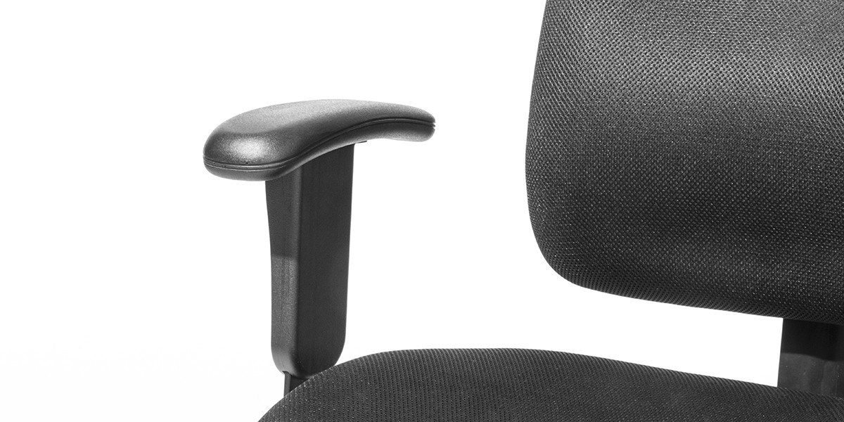 Black Fabric Task Chair CHR010998