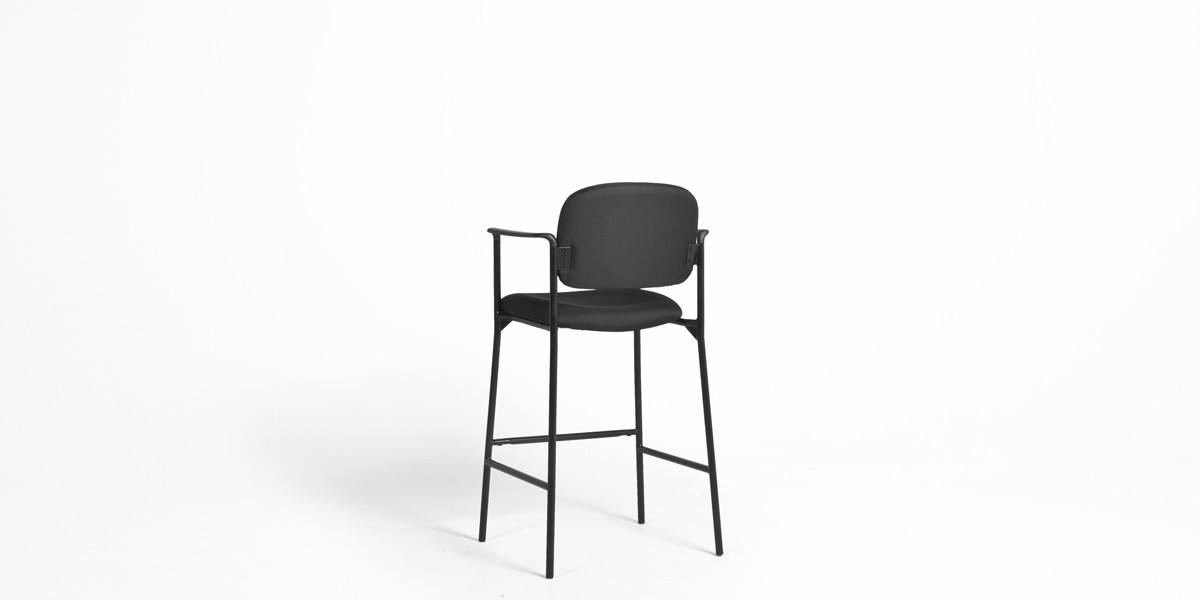 Black Fabric Bar Stool CHR013188 Arenson Office Furnishings : CHR013188 2barstoolarensonfurniturepropsrental 1200x600 from www.aof.com size 1200 x 600 jpeg 22kB
