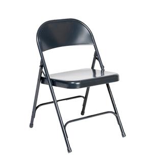 Blue Metal Folding Chair CHR013518