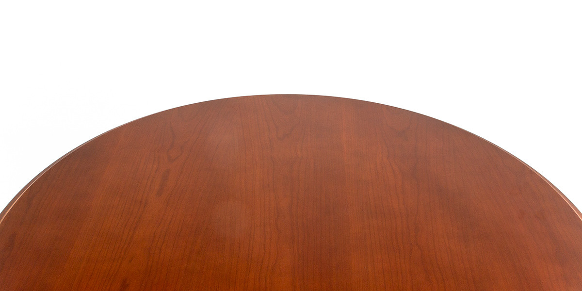 "48""dia Natural Cherry Round Dining Table TBL013630"