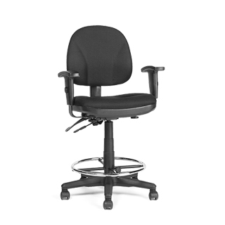 Black Drafting Stool CHR007320